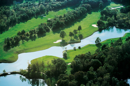 Overview of golf course named Golf Club de Lyon