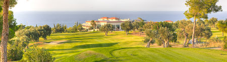 Overview of golf course named Korineum Golf and Beach Resort