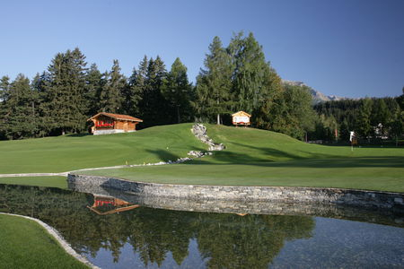 Cover of golf event named ASGI Crans Open