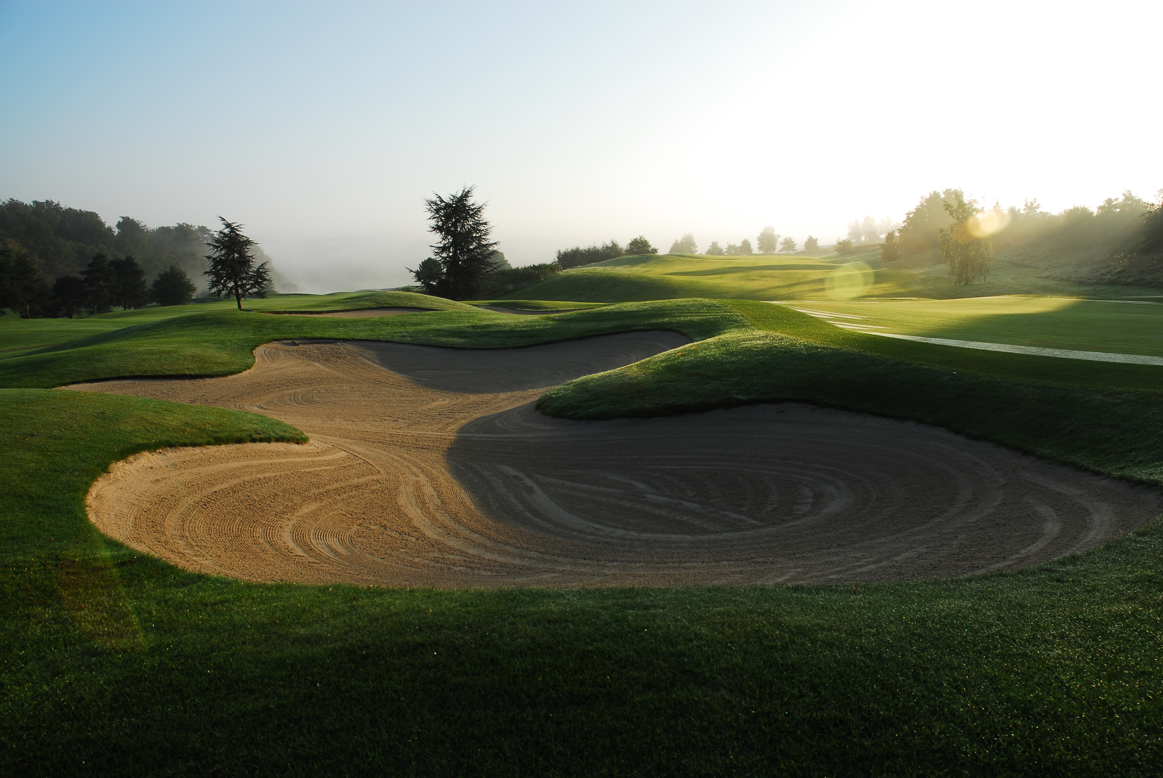 Overview of golf course named Kikuoka Golf and Country Club