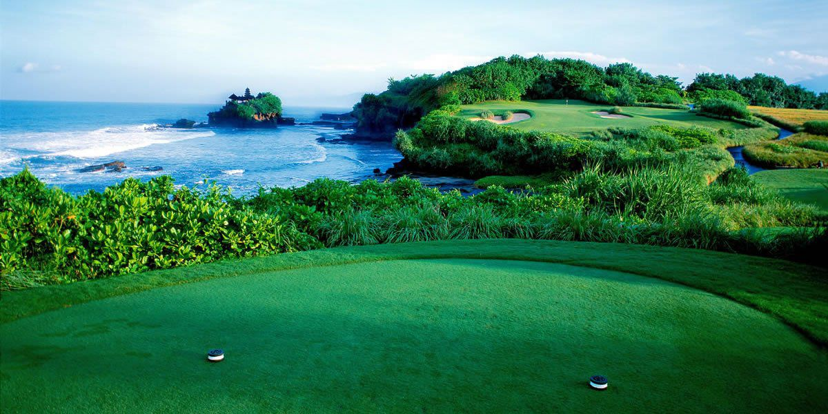 Nirwana bali golf club cover picture