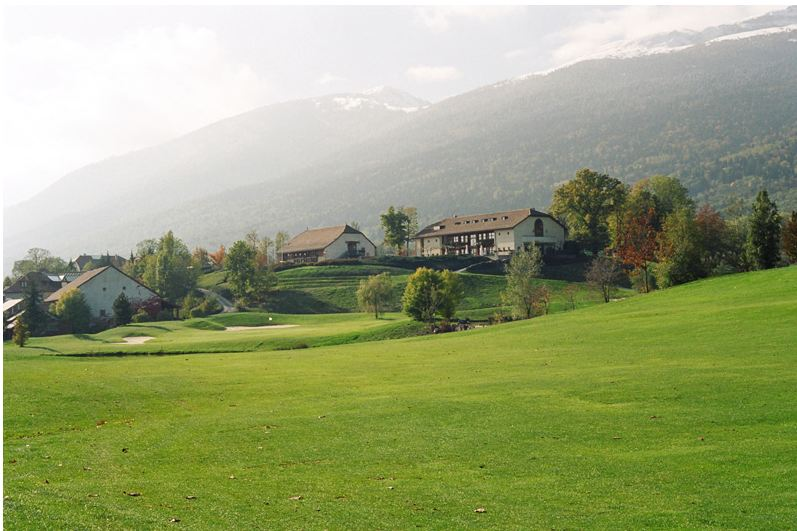 Overview of golf course named Maison Blanche Golf Club