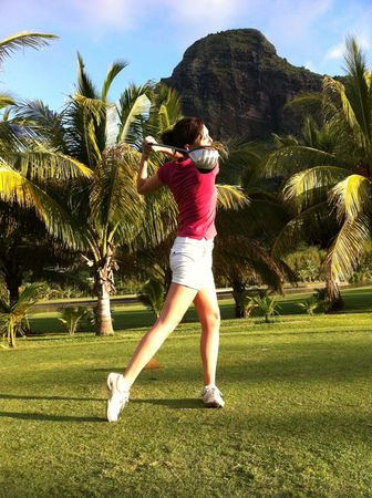 Profile cover of golfer named Cécile Guitard