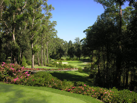 Overview of golf course named Mollymook Golf Club