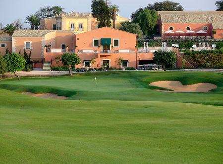 Overview of golf course named Donnafugata Golf Resort and Spa - Parkland Course