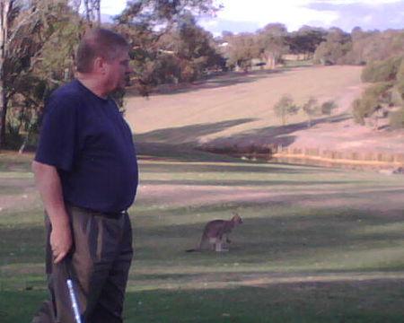 Profile cover of golfer named David Ellis