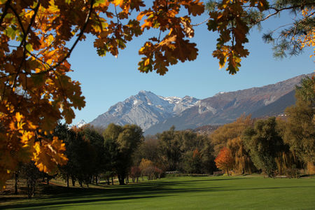 Overview of golf course named Golf Club de Sierre