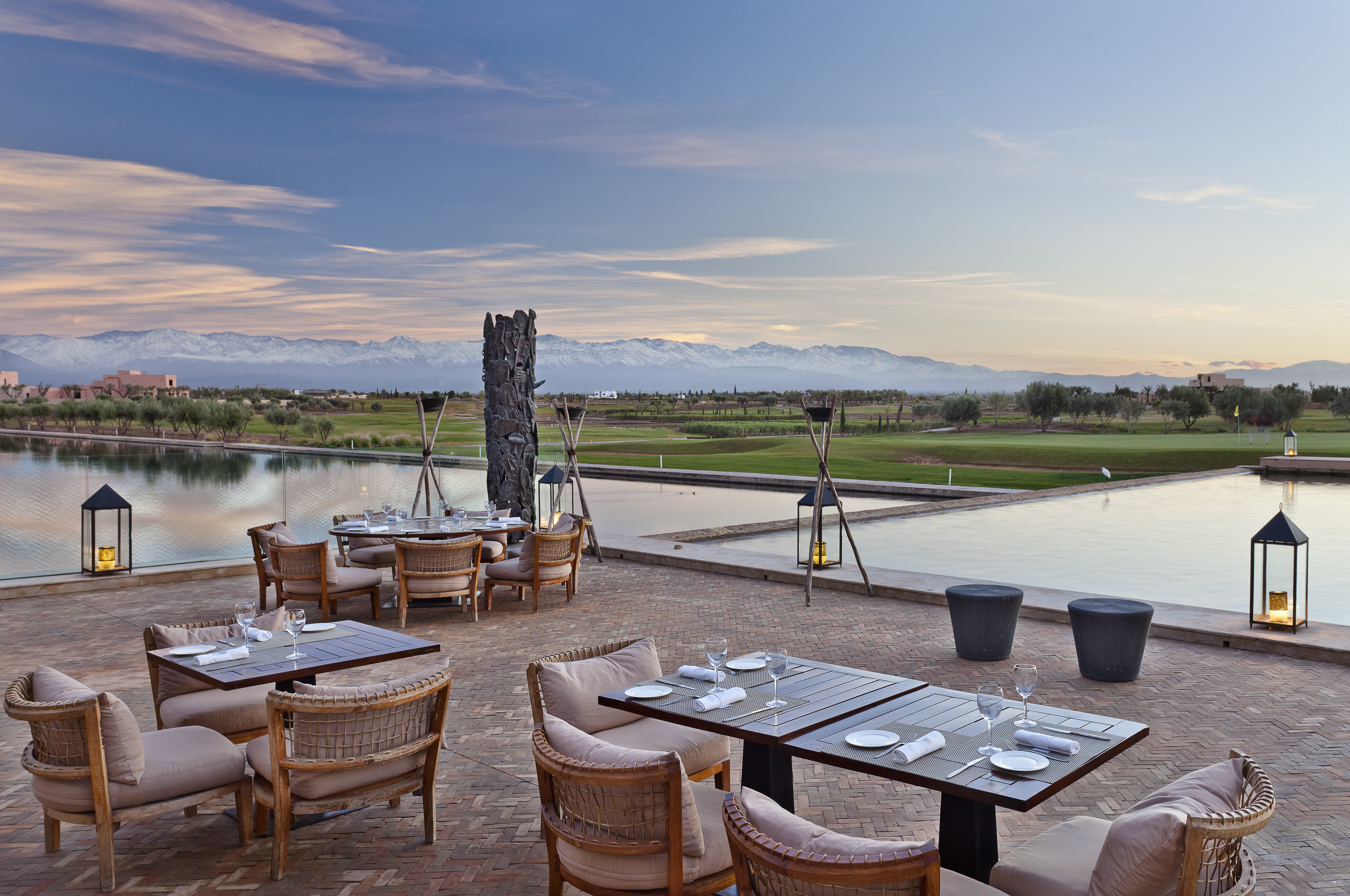 Overview of golf course named Al Maaden Golf Resorts