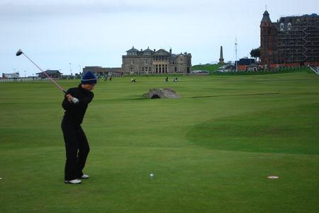 Profile cover of golfer named Agathe Séron