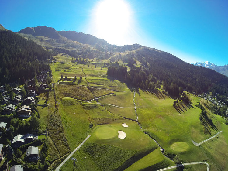 Verbier golf club cover picture