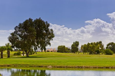 Overview of golf course named Golf de Saidia - Lacs Course