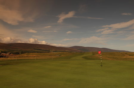 Brora golf club cover picture