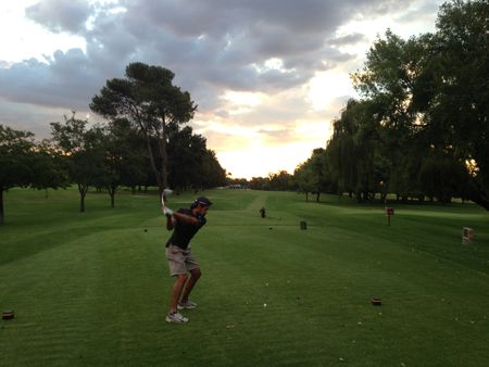 Profile cover of golfer named Antonio Garbaccio