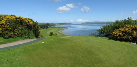 Overview of golf course named Stranraer Golf Club