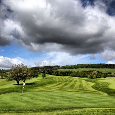 Peebles golf club cover picture
