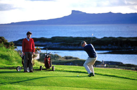 Traigh golf course cover picture