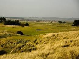 Overview of golf course named Goswick Links