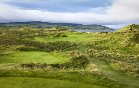 Overview of golf course named Machrihanish Dunes Golf Club