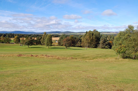 Overview of golf course named Abernethy Golf Club