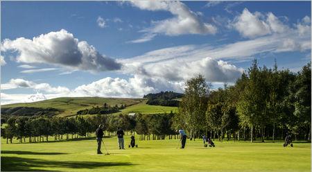 Duns Golf Club Cover