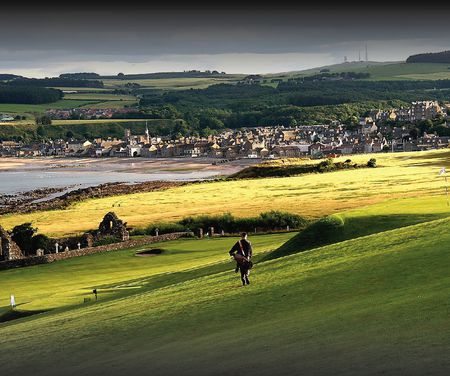 Overview of golf course named Stonehaven Golf Club