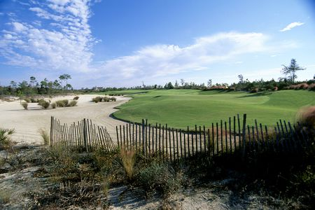 Overview of golf course named Camp Creek Golf Club