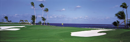 Overview of golf course named The Ocean Club