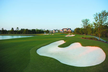 Overview of golf course named Savannah Quarters Country Club