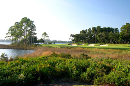 Overview of golf course named Sharks Tooth Golf Club