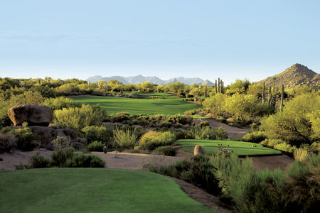 Boulders golf club and resort cover picture