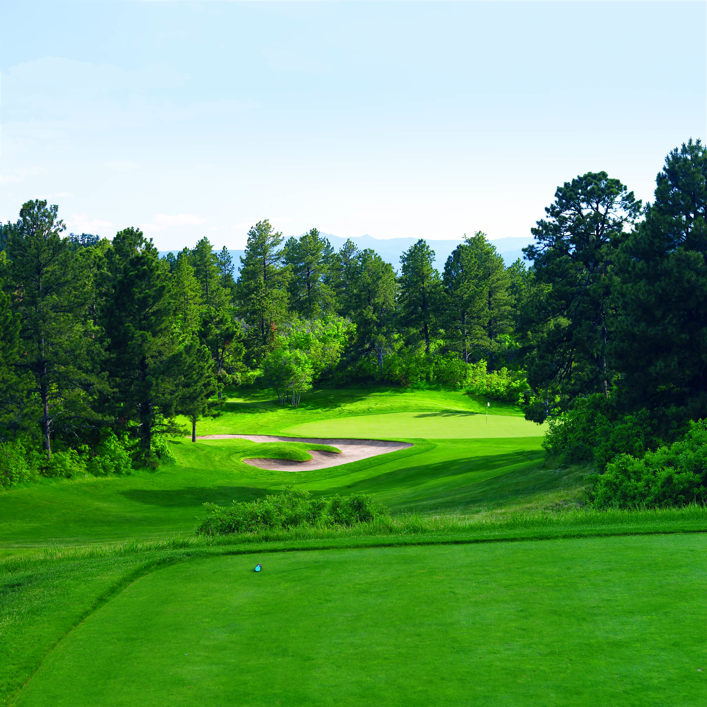 Overview of golf course named Ridge at Castle Pines North, The