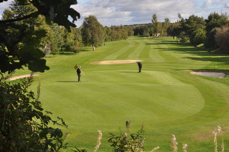 Falkirk golf club cover picture