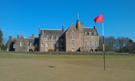 Overview of golf course named Rowallan Castle Golf and Country Club
