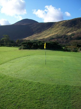 Overview of golf course named Lochranza Golf Club