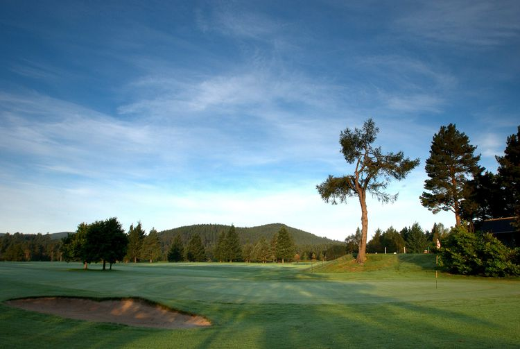 Ballater golf club cover picture