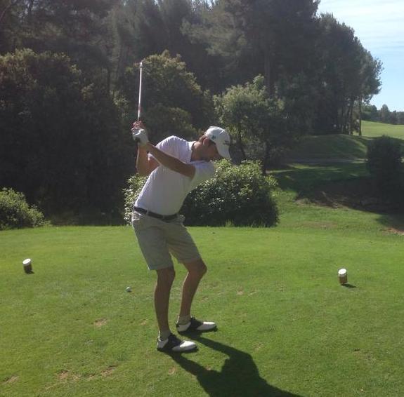 Avatar of golfer named Louis Perrot