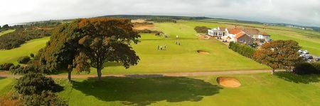 Overview of golf course named Powfoot Golf Club
