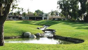 Overview of golf course named Santa Ana Country Club