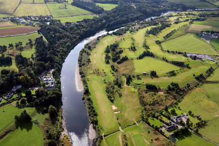 Overview of golf course named Peterculter Golf Club