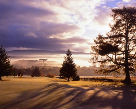 Dufftown golf club cover picture