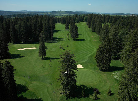 Overview of golf course named Golf Club Les Bois
