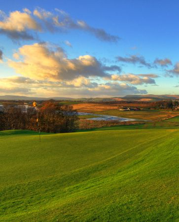 Overview of golf course named Lenzie Golf Club