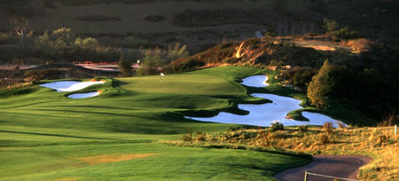 Overview of golf course named Shady Canyon Golf Club