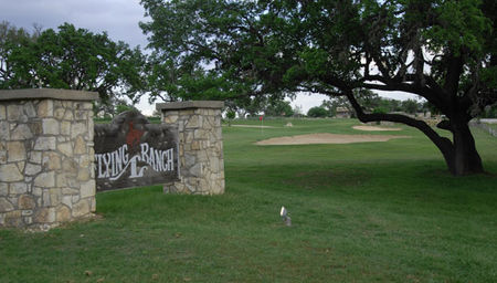 Flying l guest ranch golf course cover picture