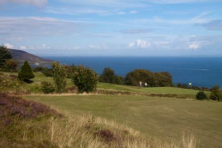 Whiting bay golf club cover picture