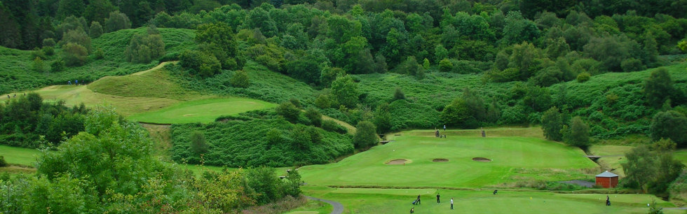 Overview of golf course named Glencruitten Golf Club