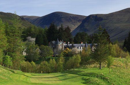 Dalmunzie Golf Club Cover Picture