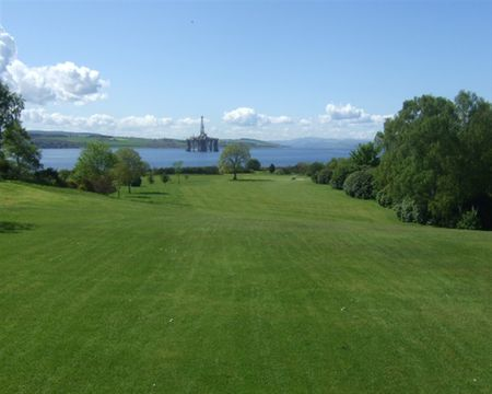 Overview of golf course named Invergordon Golf Club