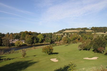 Overview of golf course named Saint Boswells Golf Club