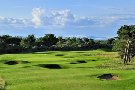 Overview of golf course named Longniddry Golf Club